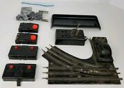 Vintage Lionel O Scale Turnout Switch Track Junk Yard Parts Repair Controls Lot