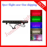 1430w Rgb 3 In 1 Matrix Led Wall Washer Flood Stage Bar Light 4pcs With Case