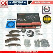 For Bmw F10 F11 520d Upper Lower Diesel Engine Timing Chain Kit N47 D20 A C D