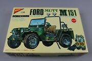 Zf1339 Nichimo 1/20 Maquette Voiture Militaire Mc-2029 Ford Mutt M151 Motor