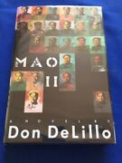 Mao Ii - First Edition Inscribed By Don Delillo