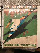 Lot Of 27 60s 70s 80s Chicago Cubs Signed Scorecards- Caray Buck Banks More