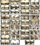 Nice Collection Of 35 Keystone Stereoview Cards Depicting Wwi - World War I
