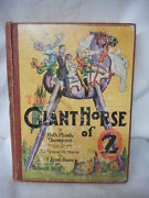 The Giant Horse Of Oz By Ruth Thompson 1928 Illustrated By John Neill