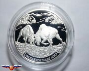 Russia 25 Rubles 2015 Protect Our World Elk Silver 5 Oz Proof