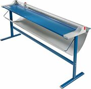 Dahle 472s Premium Rolling Paper Trimmer With Floor Stand 72 Cut Length