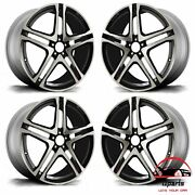 Set Of 4 Mercedes Gle-class 2016-2019 22 Factory Oem Staggered Wheels Rims