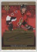 Thomas Chabot 2016-17 Ud Ultimate Rc Autograph Auto 72/199 His Jsy 1/1 Epack