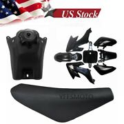 Tall Seat And Fuel Tank And Plastic Fender For Honda Crf50 Fairing Atomik Dirt Bike