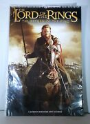 Lord Of The Rings Very Rare 2004 Poster Size Calendar