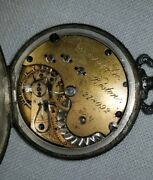 E. Howard And Co Boston 14k White Gold Antique Pocket Watch 218092