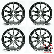 Set Of 4 Mercedes Sl-class 2013-2017 19/20 Factory Oem Staggered Wheels Rims