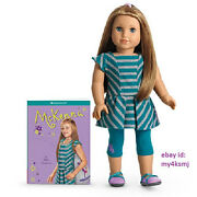 American Girl Mckenna Doll + Book Outfit Doll Of The Year 2012 Gymnastics Girl