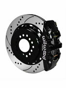 Wilwood Disc Brakes Aero4 Rear Slotted/drilled Rotor 4-piston Cal… 140-10947-d