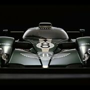 Bentley Speed 8 Front View By Rick Graves Limited Edition Print