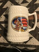 Captain Morgan Spiced Rum The Captainand039s Seafaring Adventures Beer Stein Mug 1996