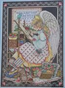 Angel Of Cross Stitch - Completed Postage To Au, Us And Uk Only
