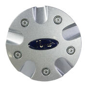 New Oem 00-01 Ford Focus 15 Inch Wheel Silver Center Cap Hub Covers- Blue Oval