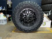 18x9 Mayhem Chaos Wheels 35 Nitto Mt Tires Package 6x135 Ford F150 Expedition