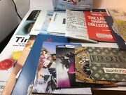 Vintage Collection Of Swatch Collectors Club Catalogs