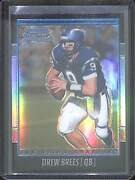2001 Bowman Chrome Football Rookie Refractor 144 Drew Brees No 941 Of 1999