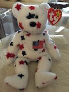Very Rare Glory Bear Ty Beanie Baby 1997 Rare With All Errors Mint Condition