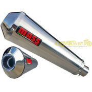 Exhaust Complete With Set 2in1 Mass Evo Inox For Bmw R Nine T Approved Caferace