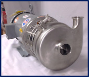 Reconditioned Pump And Motor- For Processed Foods Dairy Beverages Brewery Home