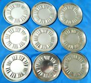 S Kirk And Son Inc Sterling Silver 9 Coasters 290 Grams 10 Ounce Coasters