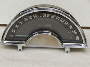Original Reconditioned Calibrated And Tested Gm 1958 Corvette Speedometer