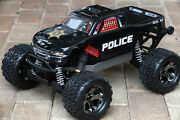 Custom Body Police Style For Traxxas Stampede 1/10 Truck Car Shell Tra3617
