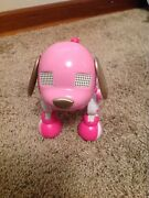 Zoomer Pink Dog Interactive Used