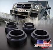 Heavy Duty 40mm Real Rubber Lift Kit Coil Spring Spacers 4x Mercedes G W463 W461