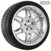 19 Inch Machined Mercedes Deep Dish Replica Rims And Tires 501