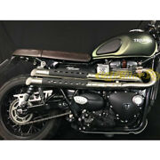 Exhaust Complete 2in2 Mass Mohave Triumph Street Scrambler Ece Made In Italy
