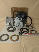 Ford Aod Transmission Rebuild Kit - Clutches Steelsband And 4wd Filter L89-1993