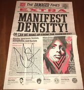 The Damaged Times Newspaper Shepard Fairey Obey Signed By Retna Proof