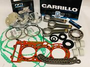 Can-am Can Am X3 X-3 Xmr Xrc Complete Top Bottom End Rebuild Kit Rods Pistons