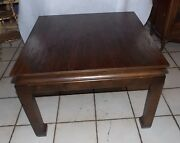 Cherry Mid Century End Table / Side Table By Mersman Rp-t782