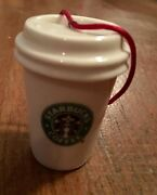 Starbucks Cup 2006 To-go Cup Holiday Collection Christmas Ornament