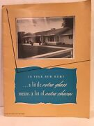1944 Pittsburgh Plate Glass Company Extra Glass Extra Charm Dealers List Catalog