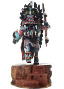 Kachina Hopi Ahote Doll Collectible By Milton Howard Small Size