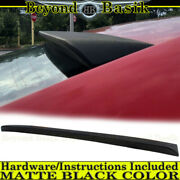 For 2012 2013 2014 Toyota Camry Matte Black Factory Style Roof Spoiler Lip Wing