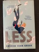Less - Andrew Sean Greer First Edition/first Printing Hardcover