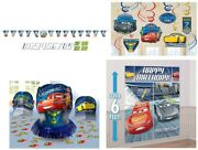 Cars 3 Mc Queen Birthday Decor Bundle Pack With Balloon Bouquet Party Supplies