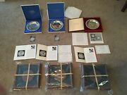Franklin Mint Christmas Plate Collection By Norman Rockwell 1970 1971 1972