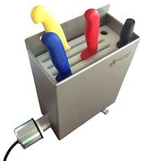 Aes Knife Sterilizer - Stainless Steel - Disinfection Unit - 12/14 Knives