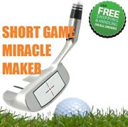 1 Chipper Utility Square Wedge - Eliminates Fat And Thin Chip Strikes Golf Club