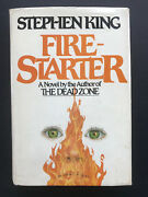 Fire-starter By Stephen King - 1980 - Book Club Edition Vintage Hardcover Book