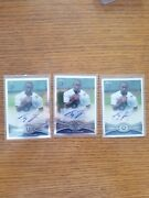 2012 Topps Chrome Ty Hilton Autograph Rookie Indianapolis Colts Auto Rc.lot Of 3